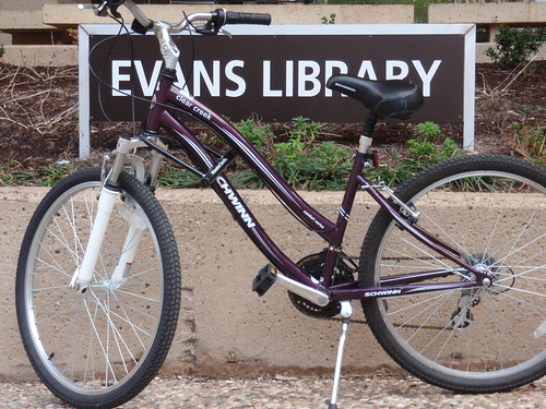 Bike at Library
