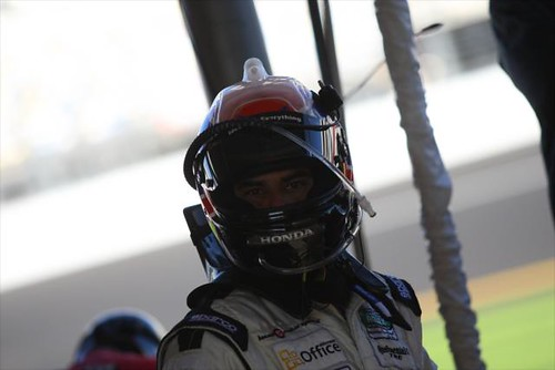 Raphael Matos is ready to hop in the car and drive his last stint