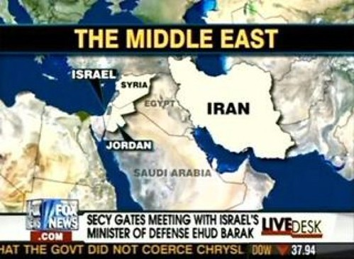 The location of Egypt according to Fox News