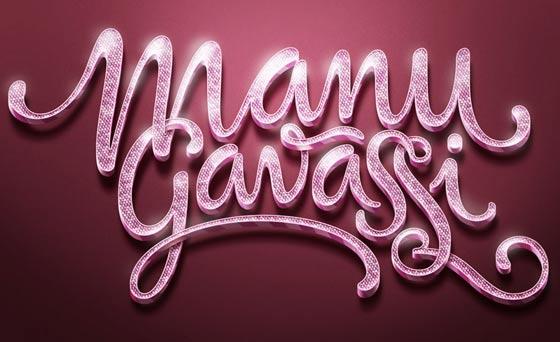 tipografía en diseños