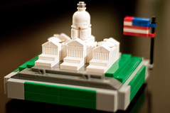 LEGO US Capitol (Tervlon) Tags: usa house monument america photography washingtondc us dc washington floor lego flag politics bricks patriotic tourist staff capitol congress independent american dome legos patriot democrat capitolhill gop senate attraction moc captiolhill microscale