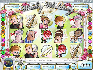 Wacky Wedding slot game online review