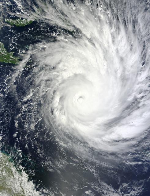 Tropical Cyclone Yasi Headed Toward Queensland, Australia