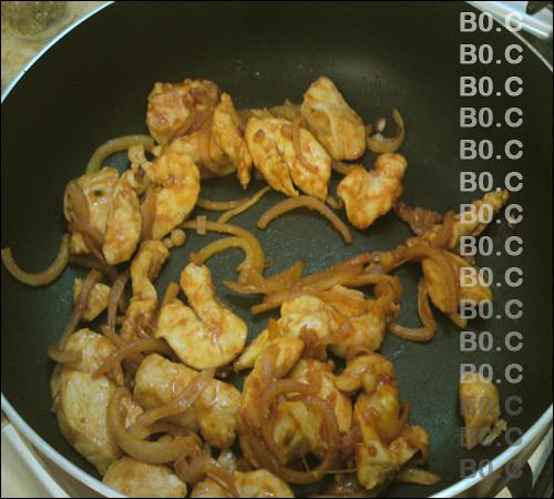 دجاج بالصويا وجبة صينية دايت
