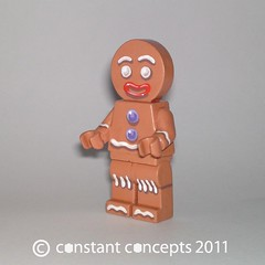 2011 Shrek DreamWorks Gingy Gingerbread Man #1 (Constant Concepts) Tags: shrek lego gingerbread cast minifig custom dreamworks gips minifigure gingy 2011