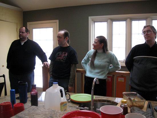 Kitchen Chatting