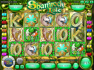 Shamrock Isle slot game online review