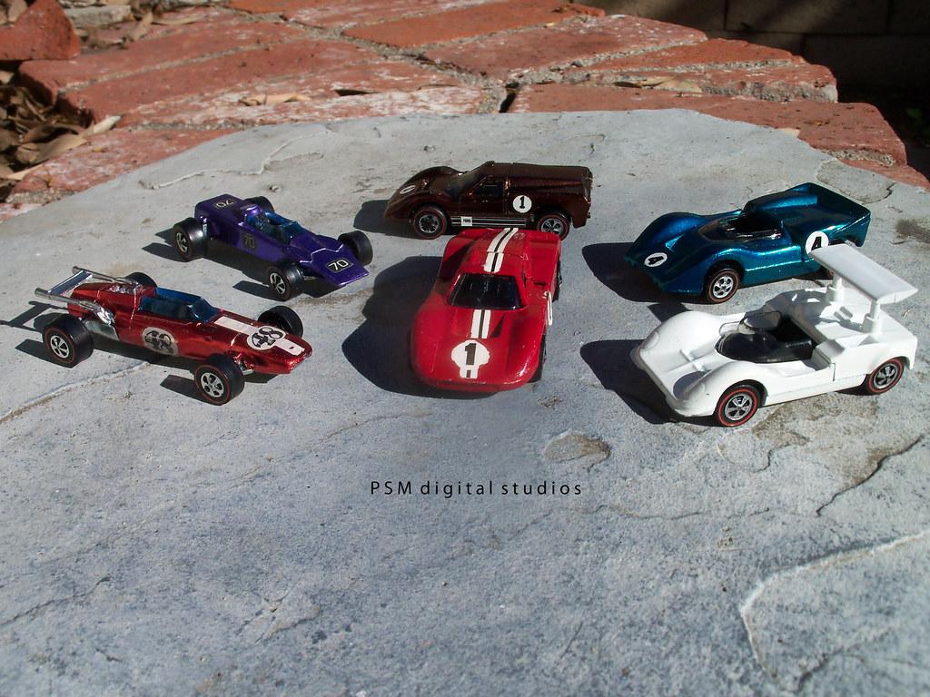 Mattel Hot Wheels Original Grand Prix Cars 1967 1968 1969 Release
