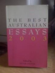 The Best Australian Essays 2003, Craven, Peter (Ed. )