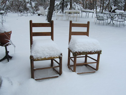 2 redneck chairs