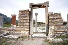 Church of Mary in Ephesus_6916 (hkoons) Tags: turkey ancient ruins asia christ religion aegean christian christianity mesopotamia augustus selcuk ephesus gettyimages anatolia seluk efes ancientruins anatalya ionia outdoormuseum alexanderthegreat aegeansea sevenwondersoftheworld ancientcity asiaminor churchofmary thracians yavan yauna androklos ayasuluk apasas lysimachos ahhiyavakingdom yavnai