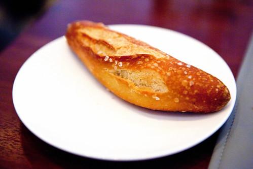 Salted mini baguette
