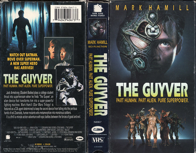 THE GUYVER (VHS Box Art)