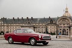 P1800 (Arnaud P-L.) Tags: auto paris car rouge volvo automobile pentax voiture collection invalides p1800 1650 k10d