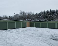(Thorir Vidar) Tags: winter snow norway vinter no bergen hordaland snø sn sane garages åsane sn¿ thorir1101128007ddng