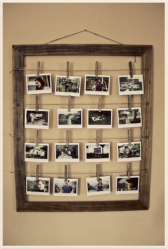 After: Handmade Photo Frame / Talia van der Wel