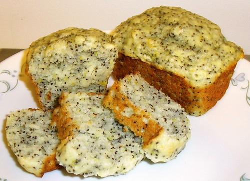Mini lemon-poppy seed loaves  2