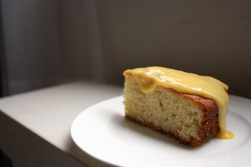Yogurt Cake with Tangerine Curd