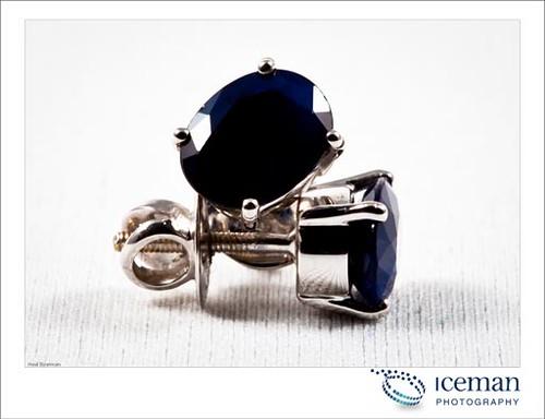 Sapphire Earring 001