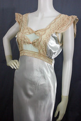 22 (Theda Bara's Vintage) Tags: vintage plymouth satin 30s nightgown