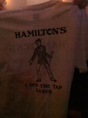 Hamilton's Tap Dance
