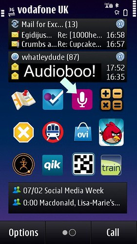 Audioboo, N8: App Icon
