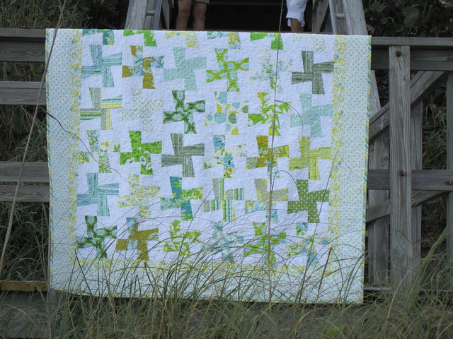 Whirlygiggle Quilt: Complete