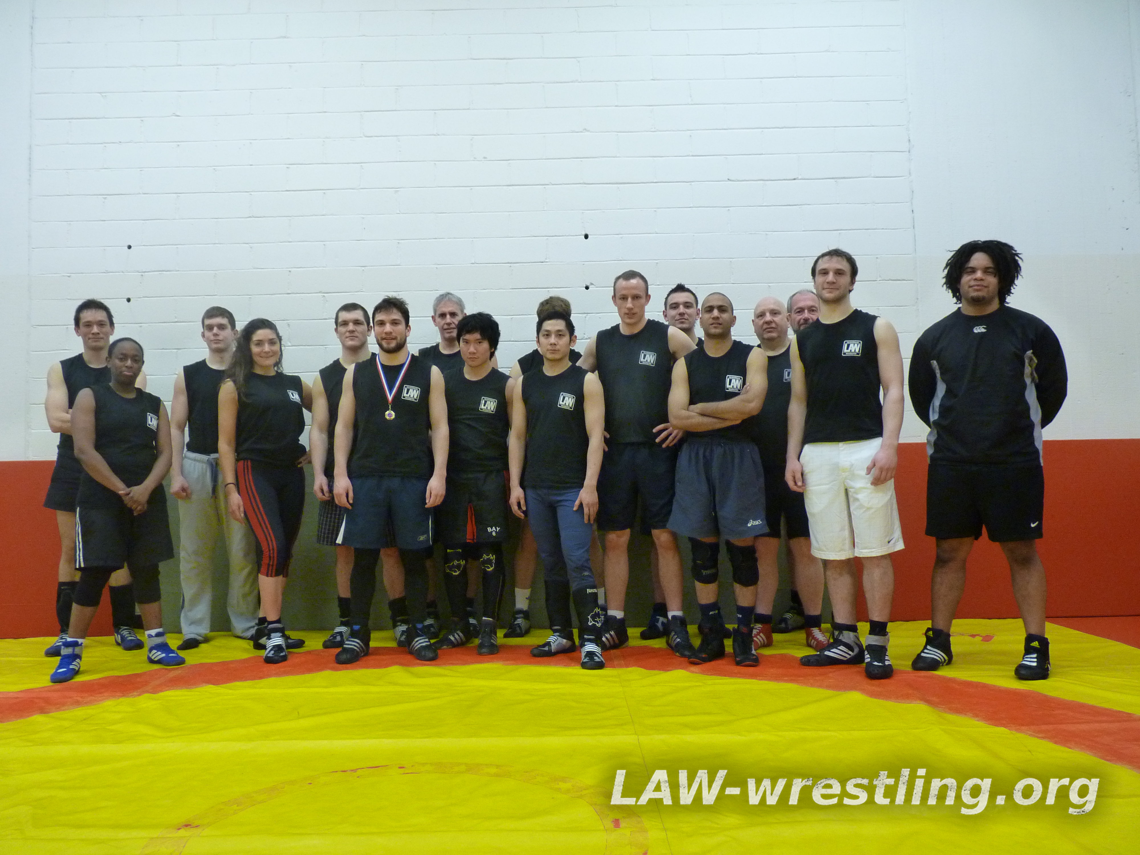 London amateur wrestling club