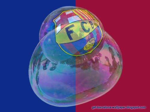 barcelona fc logo wallpaper. FC Barcelona quot;Bubble Logoquot;