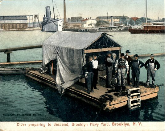 Brooklyn navy yard Circa 1910
