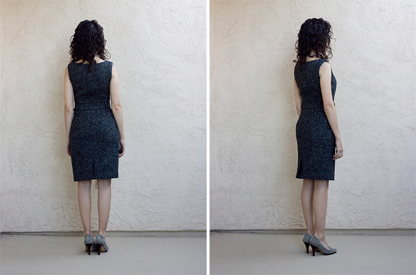 Banana-Republic-Tweed-Dress