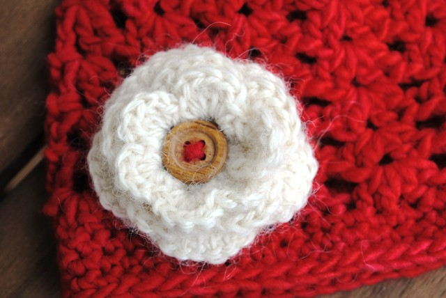 little red beanie flower