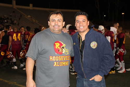 Councilmember Jose Huizar-East LA Alumni Classic-High School Football-Garfied Bulldogs-Roosevelt Rough Riders-ELACC