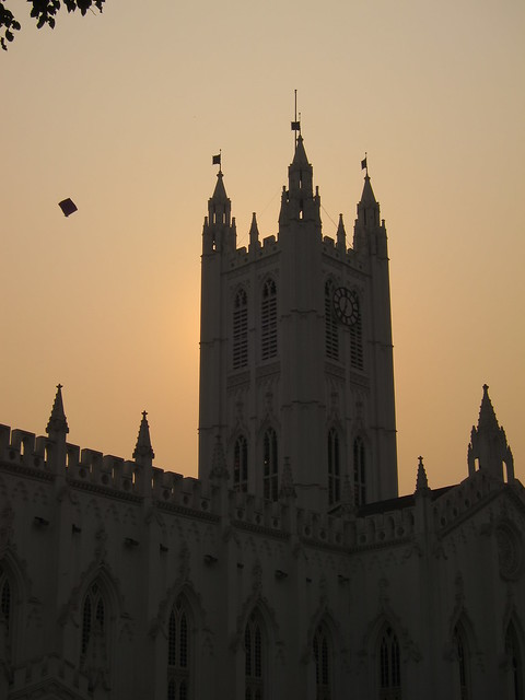 St. Paul's Cathedral, sunset