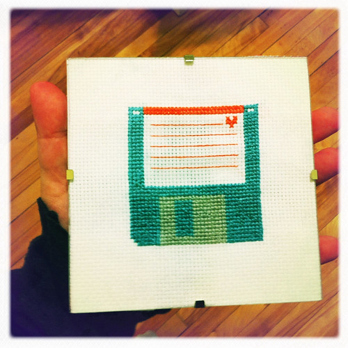 Cross-stitch Floppy