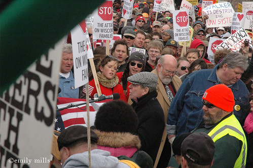 Anti-Walker, anti-union busting protests