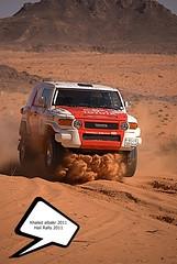 "Hail Rally 2011 ""Toyota Team"" ( Khaled albakr ~) Tags: eye hail canon nikon rally ii 7d 5d 50 70200  d3   500d  2011  d90    550d d80        450d    d3x    d3000   d3s      d300s d7000"