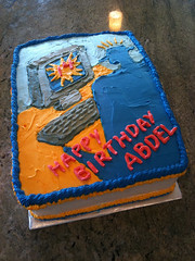 Video Game Cake by Sharon