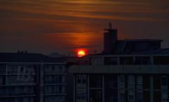 Even-in-(g) Milan... / Anche a Milano... (Fil.ippo) Tags: sunset sun milan tramonto milano sole filippo d5000 sottoilcielodimilano
