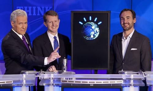 Watson vs Ken Jennings vs Brad Rutter IBM Challenge