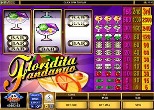 Floridita Fandango slot game online review