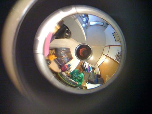 360°パノラマで撮ったマイルーム