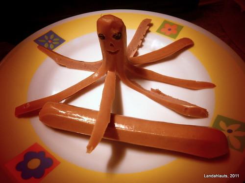 La octopus-salchica