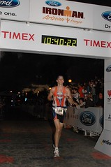 Colin Finishing Ironman AZ 2010
