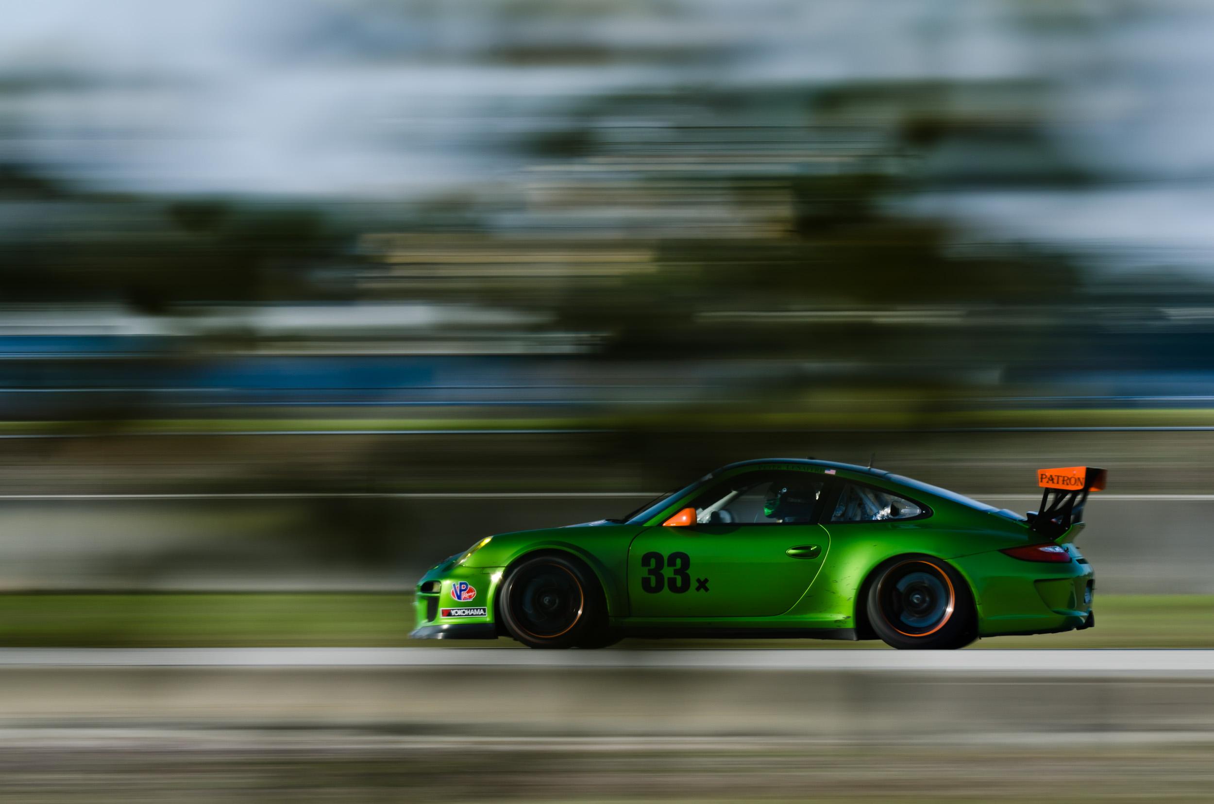 Sebring 2011 - ALMS / ILMC Winter Test - Kelly Moss Motorsports Porsche 911 GT3 Cup