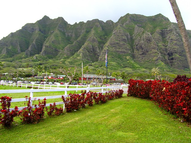 Hawaii, Oahu, Kaneohe, Kualoa Ranch