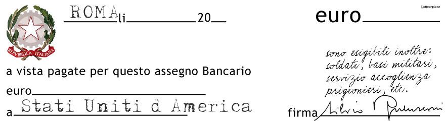 Contratto con gli americani