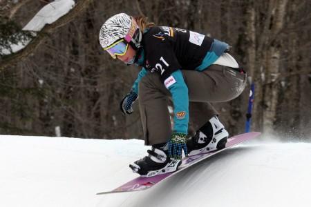Eva Samková dosáhla historického výsledku ve SP ve snowboardcrossu