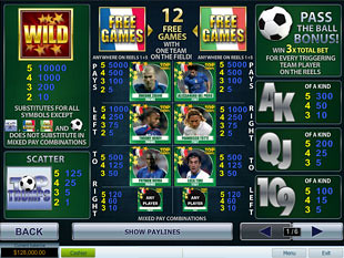 free Top Trumps World Football Stars slot mini symbol