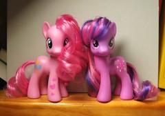 Pinkie Pie & Twilight Sparkle (floresita~) Tags: pie is twilight friendship little magic sparkle pony fim pinkie mlp